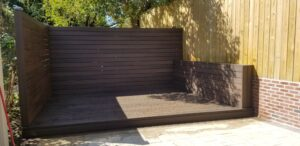 Trex Decking completed 2