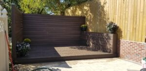 Trex Decking completed 3