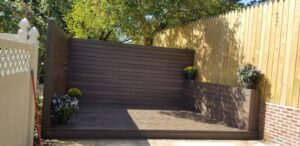 Trex Decking completed 4