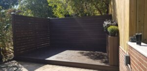 Trex Decking completed 5