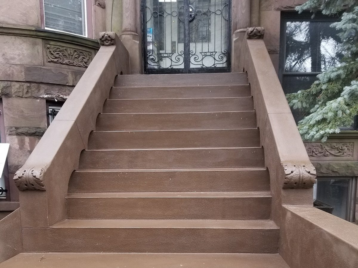Brownstone Stoop Restoration