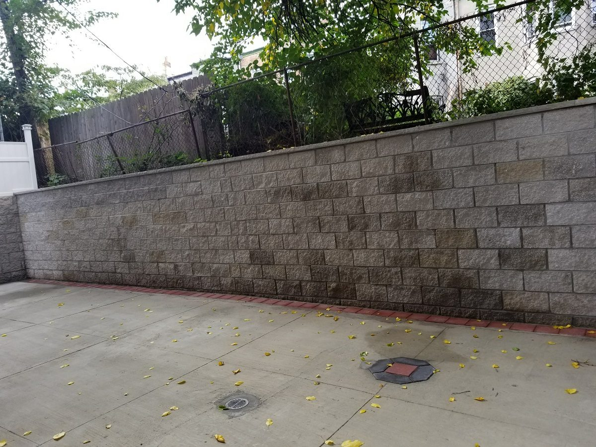 Retaining Wall Rebuild in NYC